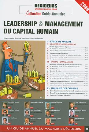 Leadership & management du capital humain 2009