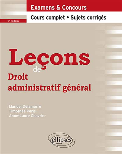 Leçons de droit administratif général