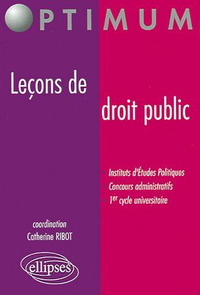 Leçons de droit public