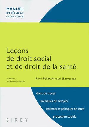 Leçons de droit social et de droit de la santé