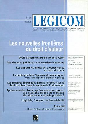 Legicom N°25