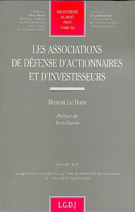 Les associations de défense d'actionnaires  et d'investisseurs