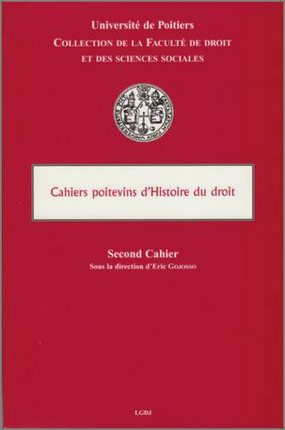 Cahiers Poitevins d'histoire du droit