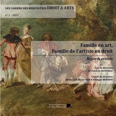 Les cahiers des rencontres droit & arts, 2019 N°1