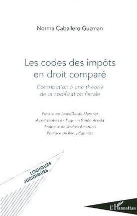 Les codes des impôts en droit comparé