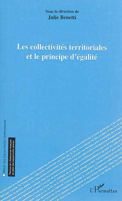 Les collectivités territoriales et le principe d'égalité
