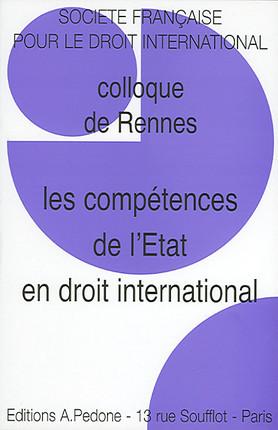 Les compétences de l'Etat en droit international