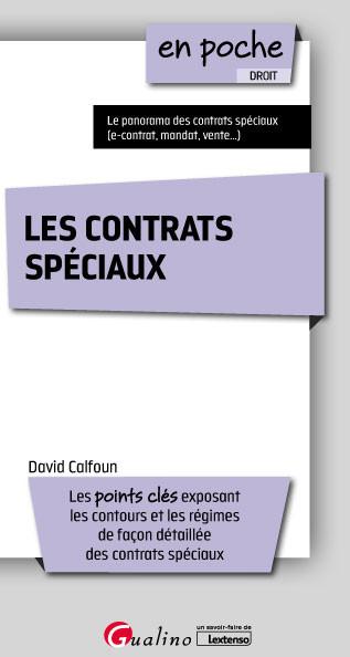 [EBOOK] Les contrats spéciaux