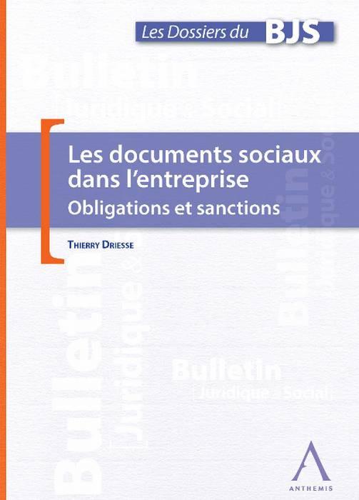 Les documents sociaux dans l'entreprise