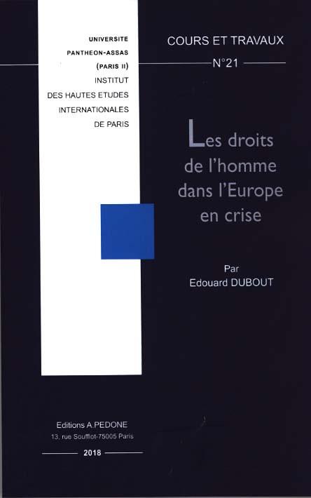 Les droits de l'homme dans l'Europe en crise