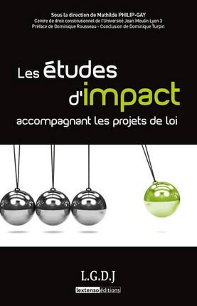 Les études d'impact accompagnant les projets de loi