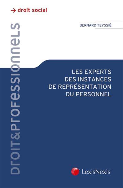 Les experts des instances de représentation du personnel