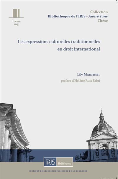 Les expressions culturelles traditionnelles en droit international