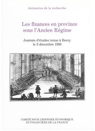Les finances de Reims à la fin de l'Ancien Régime 1765-1789