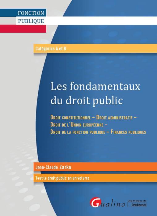 Les fondamentaux du droit public