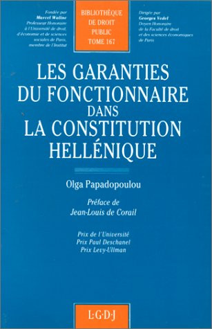 Les garanties du fonctionnaire dans la Constitution hellénique