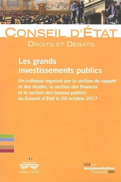 Les grands investissements publics