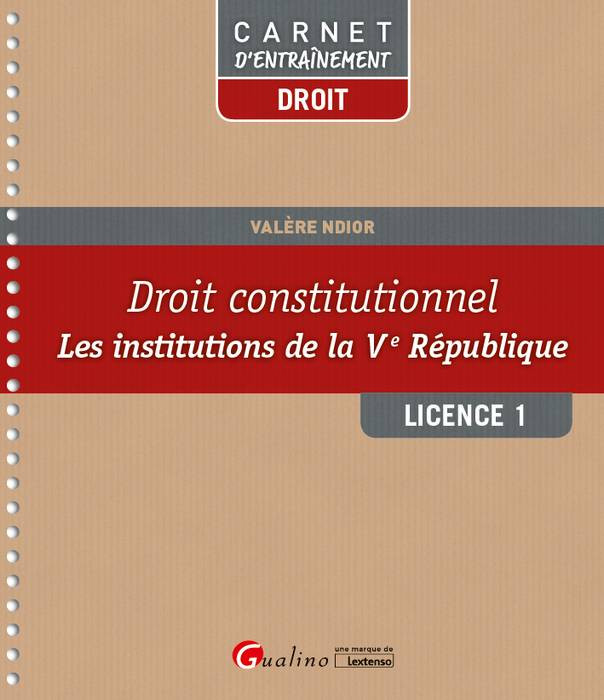 Droit constitutionnels L1-S2 [EBOOK]