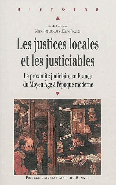 Les justices locales et les justiciables