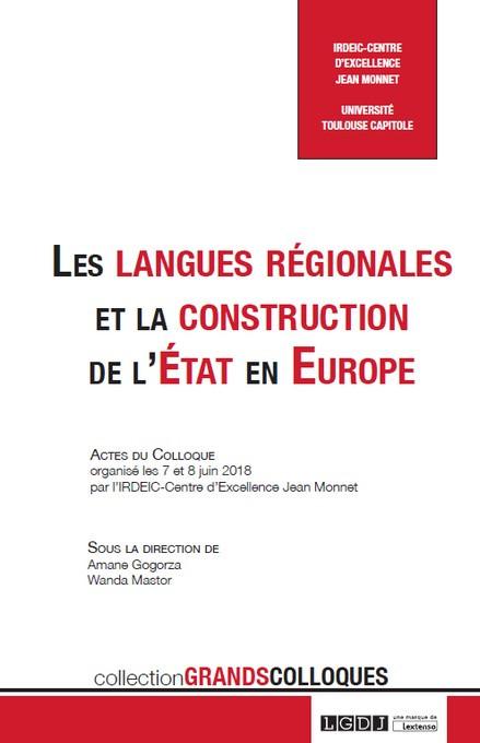Les langues régionales et la construction de l'État en Europe