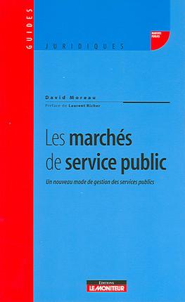 Les marchés de service public