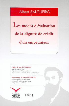 Les modes d'évaluation de la dignité de crédit d'un emprunt