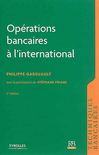Opérations bancaires à l'international