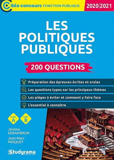 Les politiques publiques : 200 questions 2020-2021