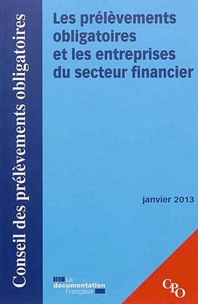Les prélèvements obligatoires et les entreprises du secteur financier