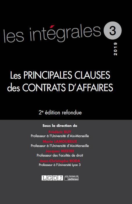 Les principales clauses des contrats d'affaires