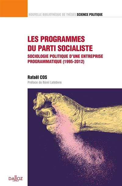 Les programmes du patri socialiste