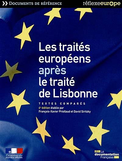 Les traités européens après le traité de Lisbonne