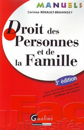Manuel - Droit des personnes et de la famille