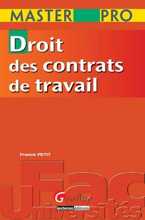 Master Pro - Droit des contrats de travail