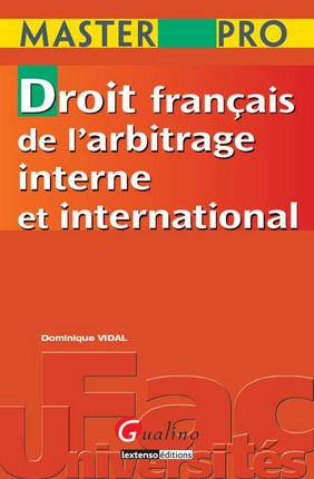Master Pro - Droit français de l'arbitrage interne et international