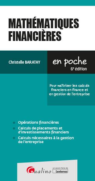 [EBOOK] Mathématiques financières