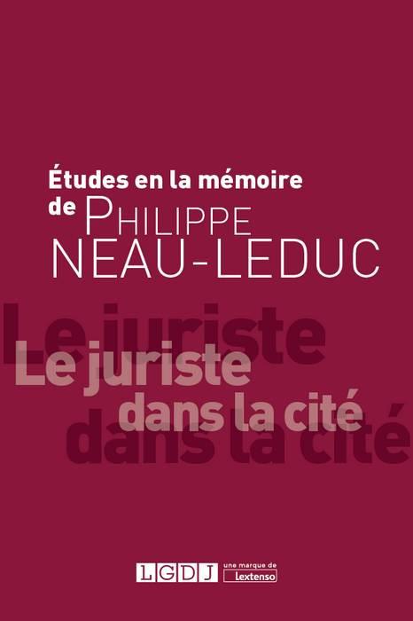Études à la mémoire de Philippe Neau-Leduc