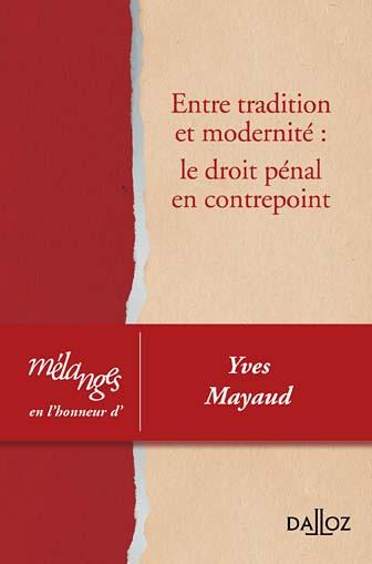 Mélanges en l'honneur d'Yves Mayaud
