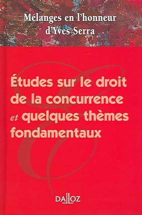 Mélanges en l'honneur d'Yves Serra