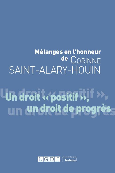Mélanges en l'honneur de Corinne Saint-Alary-Houin
