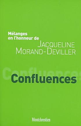 Mélanges en l'honneur de Jacqueline Morand-Deviller : Confluences