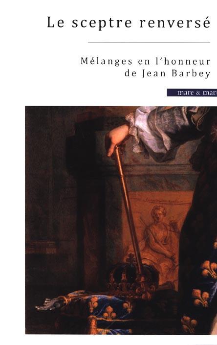 Mélanges en l'honneur de Jean Barbey