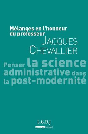 Mélanges en l'honneur du professeur Jacques Chevallier