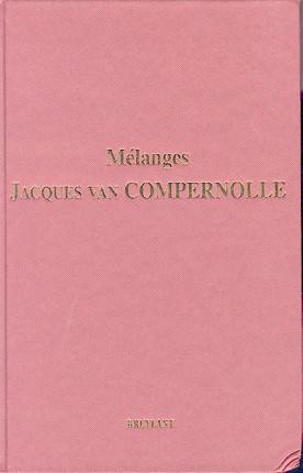 Mélanges Jacques Van Compernolle