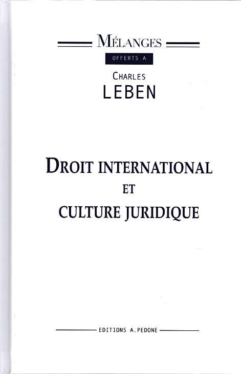 Mélanges offerts à Charles Leben