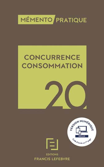 Mémento concurrence, consommation 2020