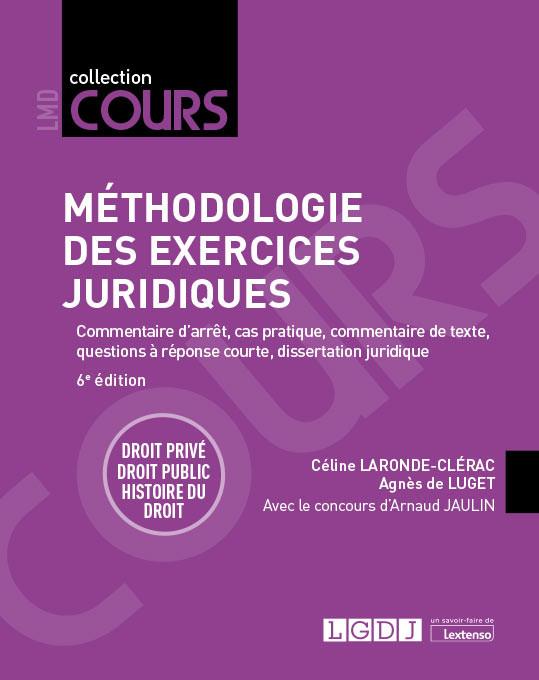 [EBOOK] Méthodologie des exercices juridiques
