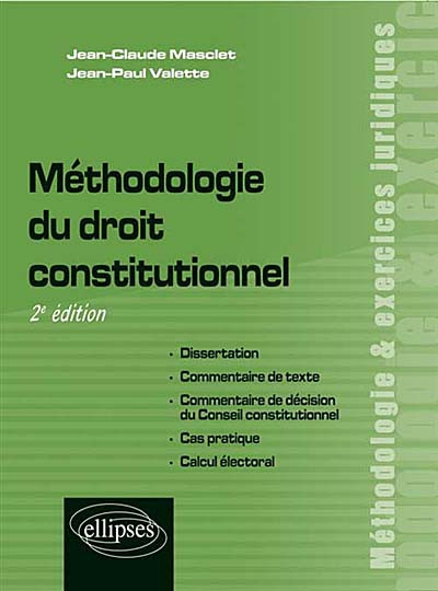 Dissertation de droit constitutionnel mthode
