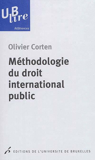 Méthodologie du droit international public
