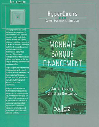 Monnaie - Banque - Financement